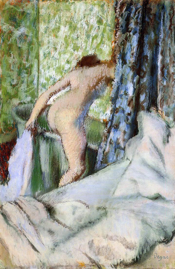 Edgar Degas The Morning Bath - Canvas Art Print