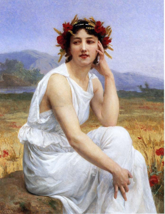 Guillaume Seignac The Muse - Canvas Art Print