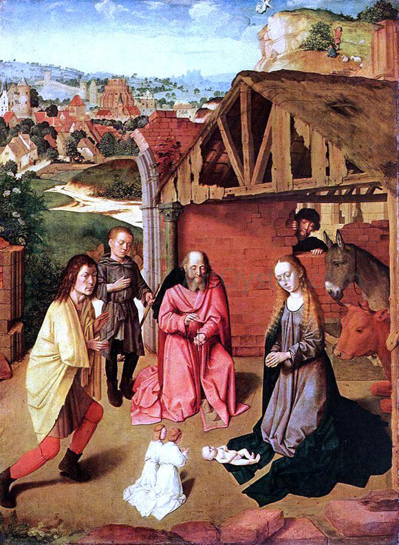 Gerard David The Nativity - Canvas Art Print