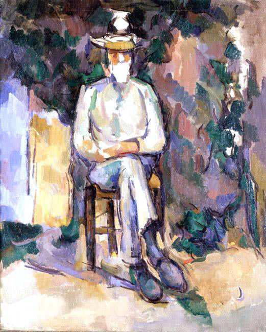 Paul Cezanne The Old Gardener - Canvas Art Print