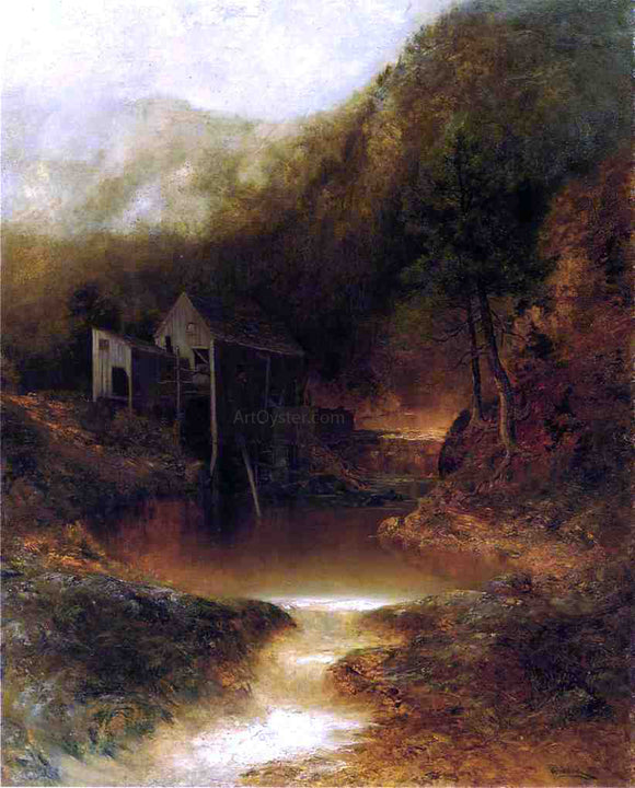 Ralph Albert Blakelock The Old Mill - Canvas Art Print
