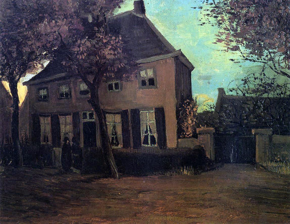 Vincent Van Gogh The Parsonage at Nuenen - Canvas Art Print