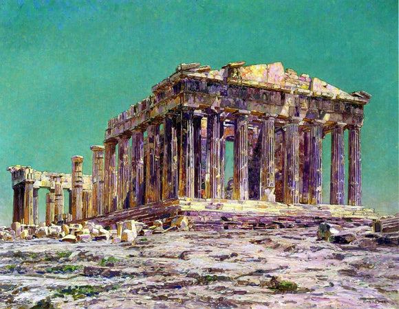 Charles Gifford Dyer The Parthenon - Canvas Art Print