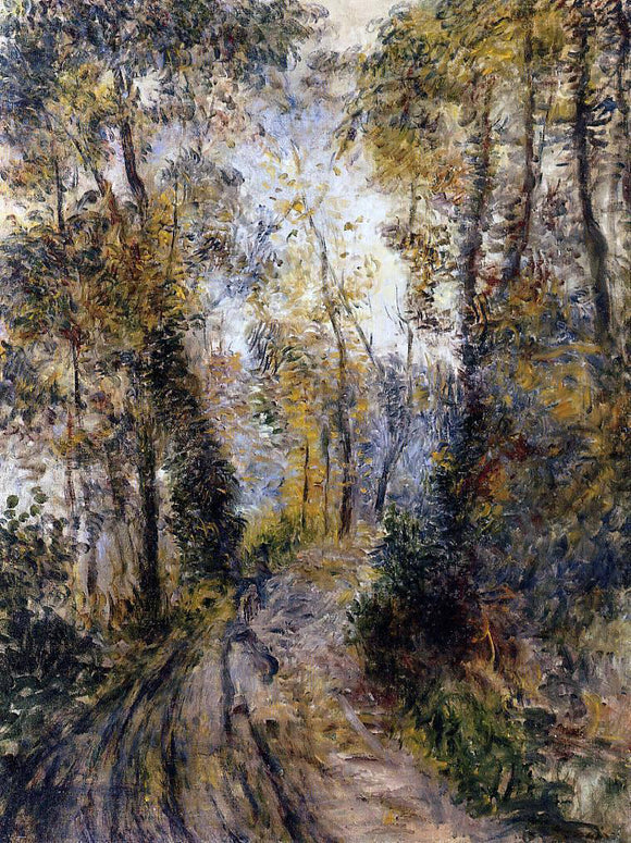 Pierre Auguste Renoir The Path Through the Forest - Canvas Art Print