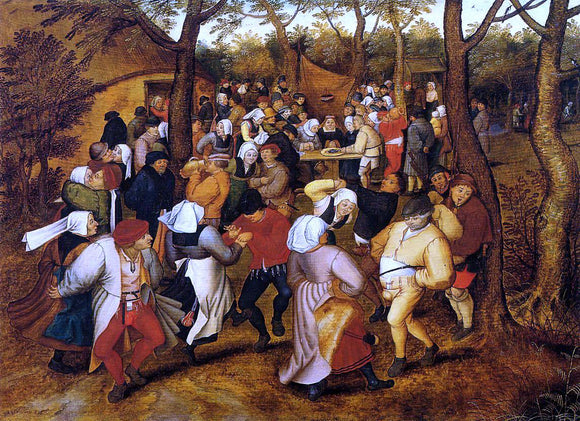 The Younger Pieter Bruegel The Peasant Wedding - Canvas Art Print