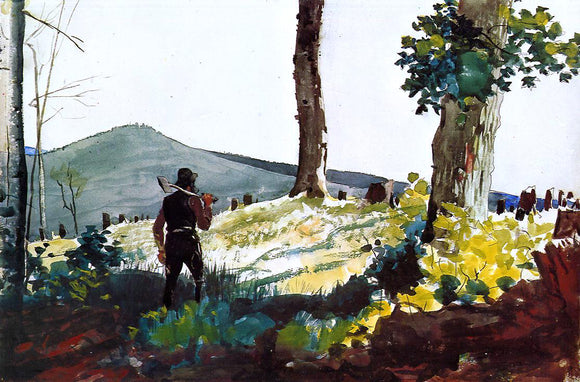 Winslow Homer The Pioneer - Canvas Art Print