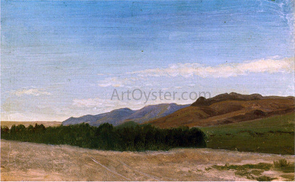Albert Bierstadt The Plains Near Fort Laramie - Canvas Art Print