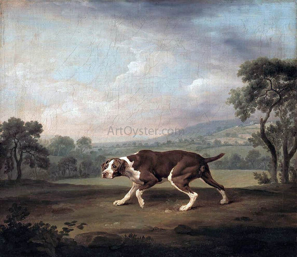 George Stubbs The Pointer - Canvas Art Print
