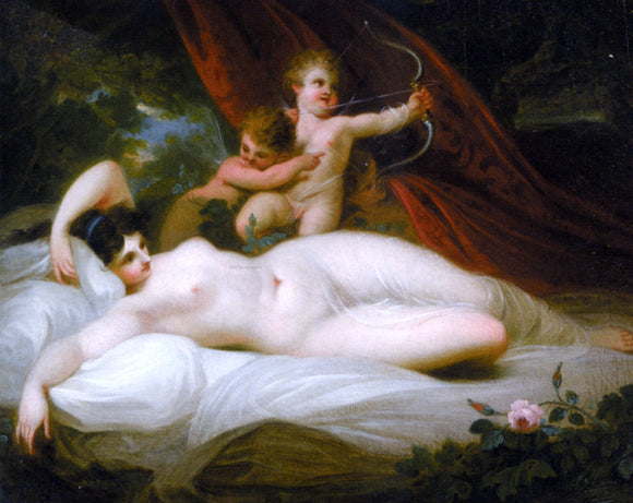 Richard Westall The Power of Venus - Canvas Art Print