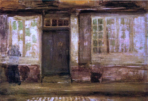 James McNeill Whistler The Priest's Lodging, Dieppe - Canvas Art Print