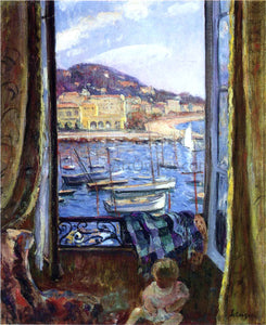 Henri Lebasque A Quay at St Pierre in Cannes - Canvas Art Print