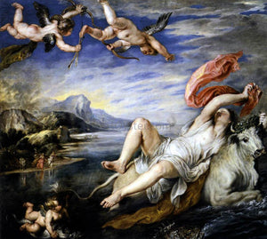 Peter Paul Rubens The Rape of Europa - Canvas Art Print