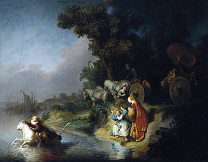 Rembrandt Van Rijn The Rape of Europe - Canvas Art Print