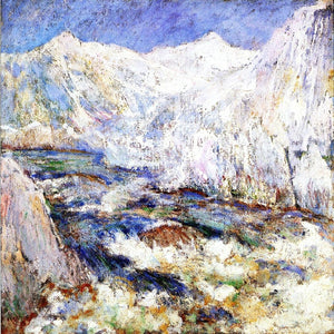 John Twachtman The Rapids, Yellowstone - Canvas Art Print