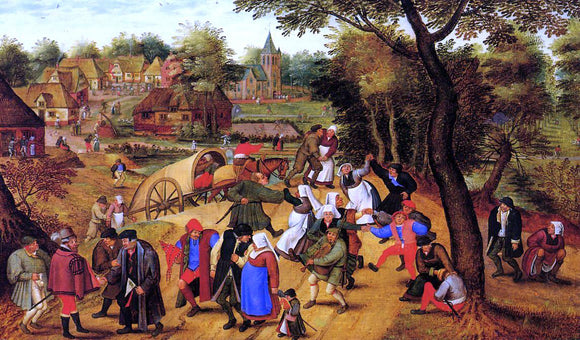 The Younger Pieter Bruegel The Return of the Fair - Canvas Art Print
