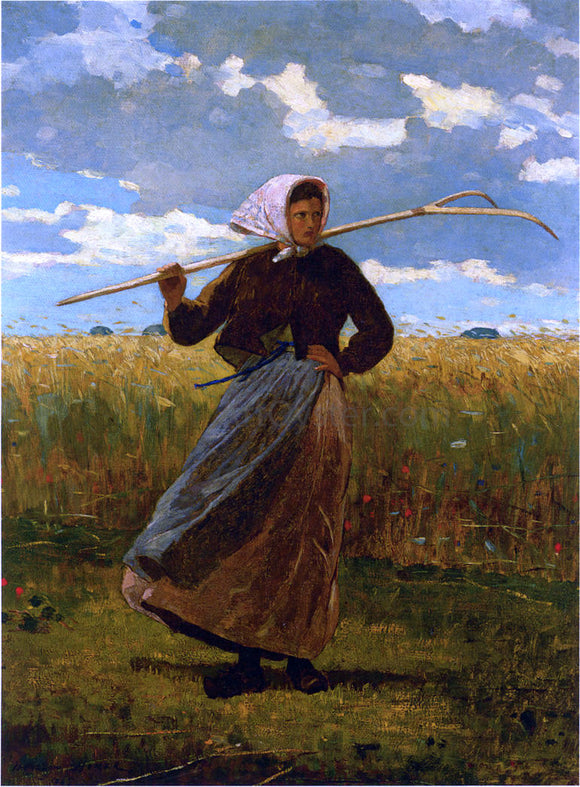Winslow Homer The Return of the Gleaner - Canvas Art Print