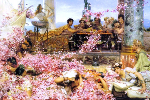 Sir Lawrence Alma-Tadema The Roses of Heliogabalus - Canvas Art Print