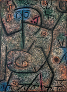 Paul Klee The Rumors - Canvas Art Print