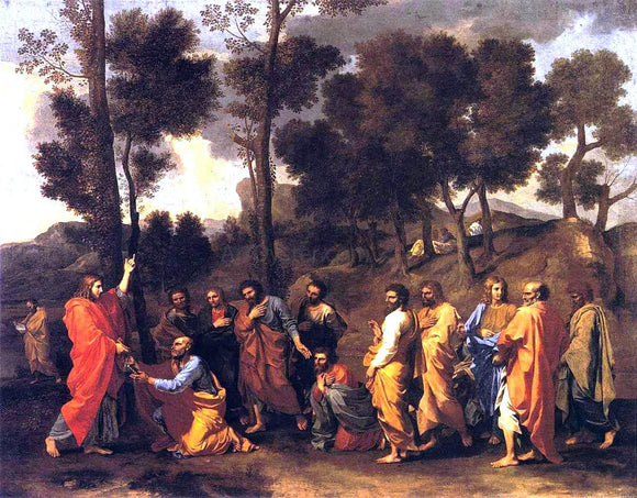 Nicolas Poussin The Sacrament of Ordination - Canvas Art Print