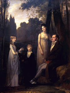 Pierre Paul Prudhon The Schimmelpenninck Family - Canvas Art Print