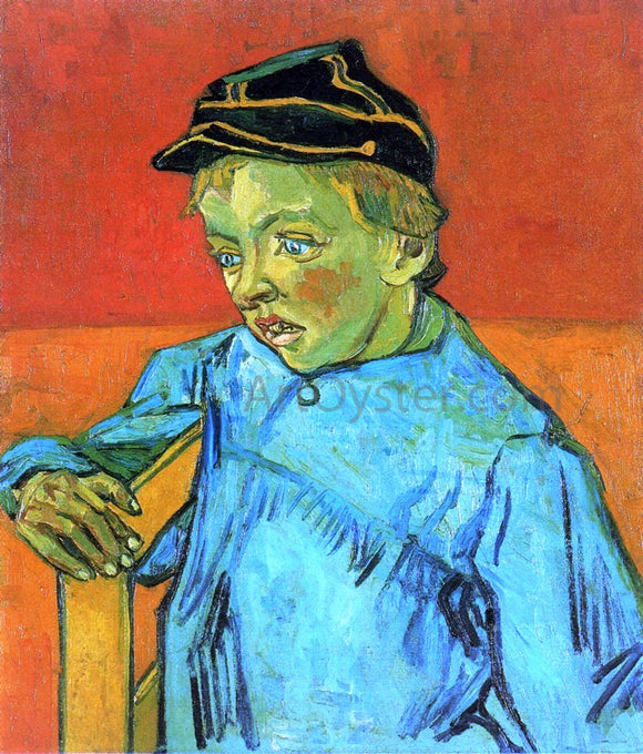 Vincent Van Gogh The Schoolboy (Camille Roulin) - Canvas Art Print