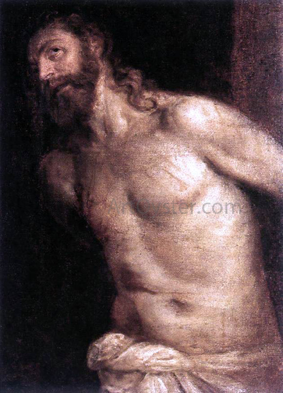 Titian The Scourging of Christ - Canvas Art Print