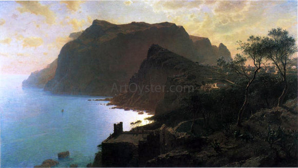 William Stanley Haseltine The Sea from Capri - Canvas Art Print