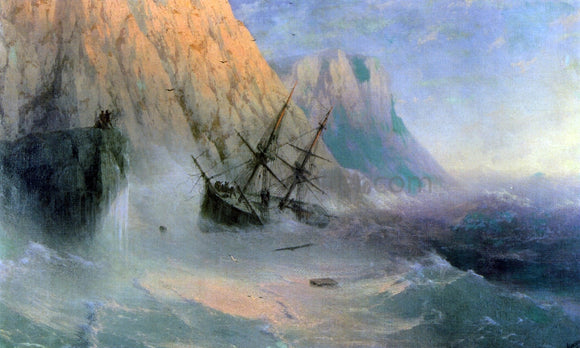 Ivan Constantinovich Aivazovsky The Shipwreck - Canvas Art Print
