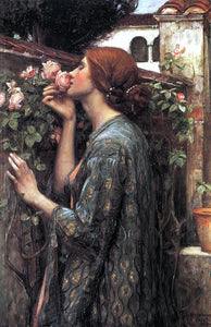 John William Waterhouse The Soul of the Rose - Canvas Art Print