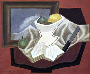Juan Gris The Table in Front of the Picture - Canvas Art Print