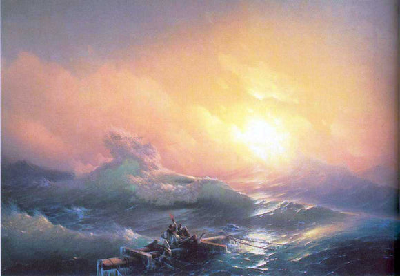 Ivan Constantinovich Aivazovsky The Tenth Wave - Canvas Art Print