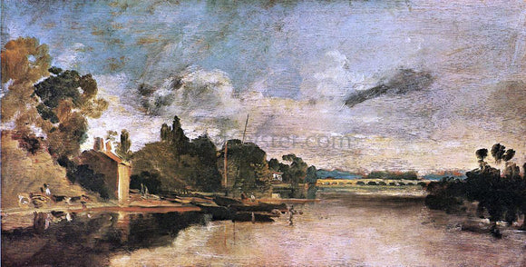 Joseph William Turner The Thames near Walton Bridges - Canvas Art Print