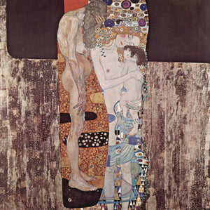 Gustav Klimt The Three Ages of Woman - Canvas Art Print