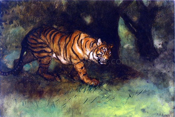 Arthur B Davies The Tiger - Canvas Art Print