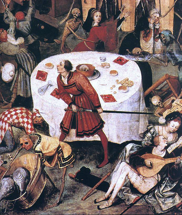 The Elder Pieter Bruegel The Triumph of Death (detail) - Canvas Art Print