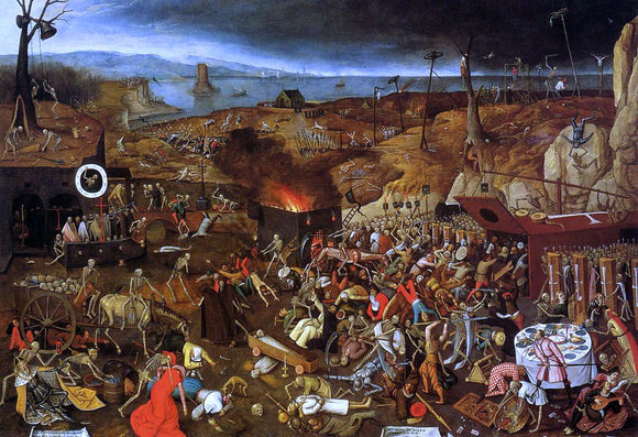 The Younger Pieter Bruegel The Triumph of Death - Canvas Art Print