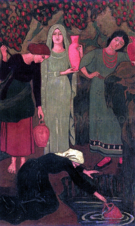 Paul Serusier The Wait at the Well - Canvas Art Print