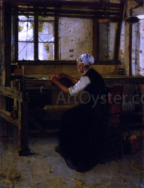 Walter Gay The Weaver - Canvas Art Print