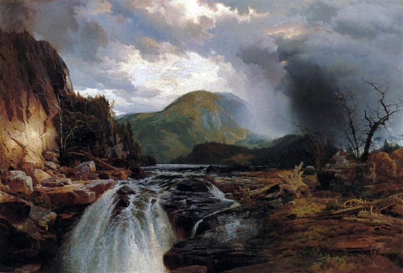 Thomas Moran The Wilds of Lake Superior - Canvas Art Print