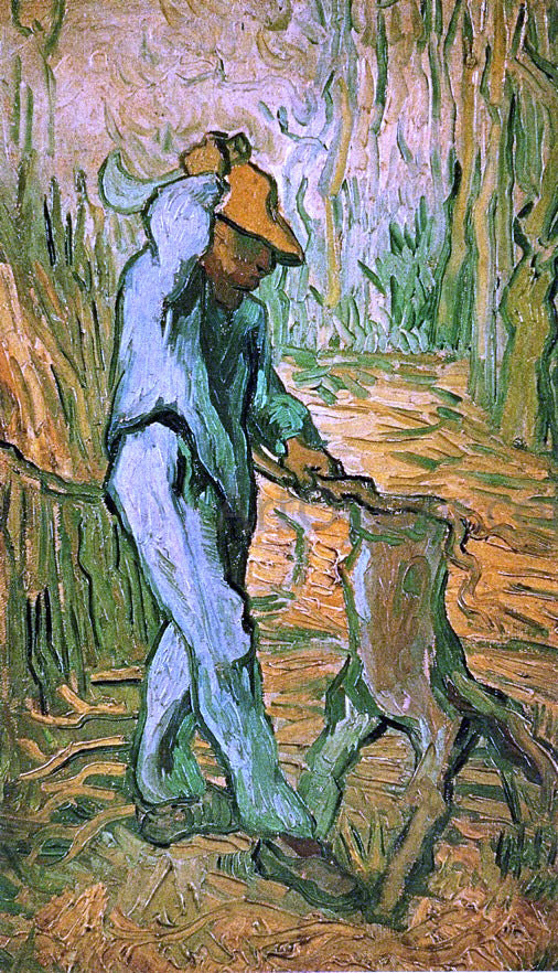 Vincent Van Gogh The Woodcutter (after Millet) - Canvas Art Print