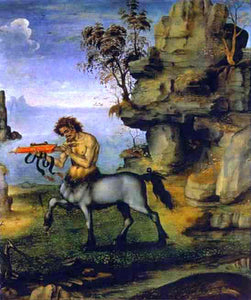 Filippino Lippi The Wounded Centaur - Canvas Art Print