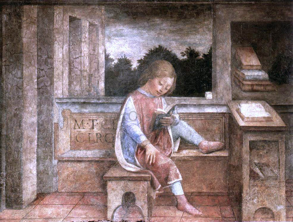 Vincenzo Foppa The Young Cicero Reading - Canvas Art Print
