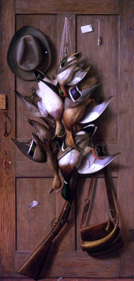 Richard La Barre Goodwin Theodore Roosevelt's Cabin Door - Canvas Art Print