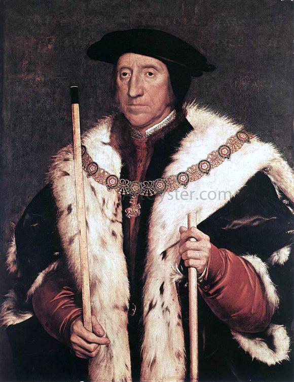 The Younger Hans Holbein Thomas Howard, Prince of Norfolk - Canvas Art Print