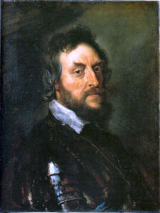 Peter Paul Rubens Thomas Howard, Second Count of Arundel - Canvas Art Print