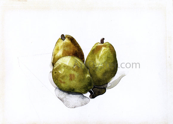 Charles Demuth Three Pears - Canvas Art Print