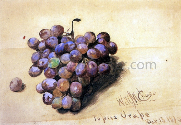 William Merritt Chase Topaz Grapes - Canvas Art Print