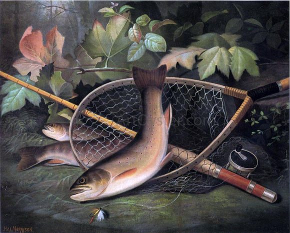 Hal Courtney Morrison Trout - Canvas Art Print