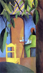 August Macke Turkish Cafe II - Canvas Art Print