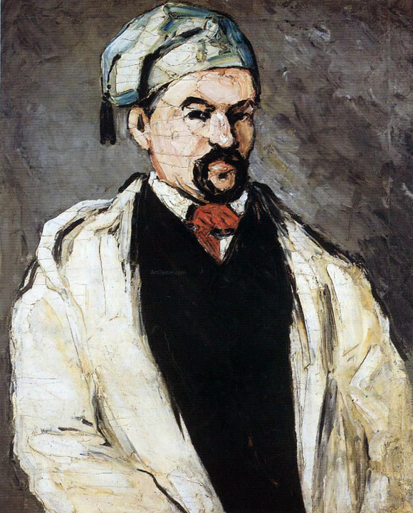Paul Cezanne Uncle Dominique (also known as Man in a Cotton Hat) - Canvas Art Print